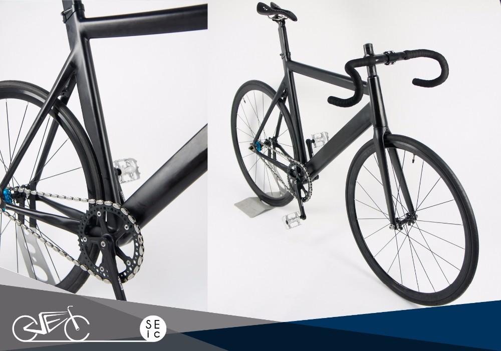 Fixie Legierung Rahmen Carbon Gabel Rennen Fahrrad Bahnrad Festrad ...