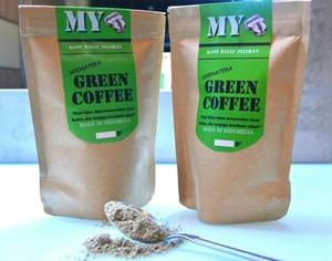 groene koffie poeder kopen