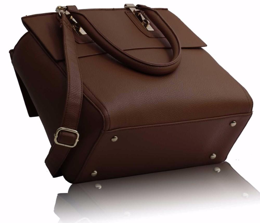 OrderHouse Ladies Designer Red Fashion Bag Leather Style Office Work Handbag 5175604a98d47