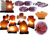 himalayan Salt Lamp in different salt color and shapes natural crafted usb lamps