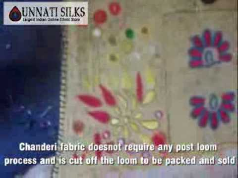 Chanderi Silk Saris, Salwar Kameez, Chanderi Pure Silk Saris, Cotton Printed Chanderi Saris