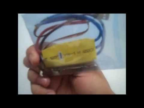 A2212 10T 1400kv brushless motor, 30a esc and 10*4.5 propeller unboxing in india
