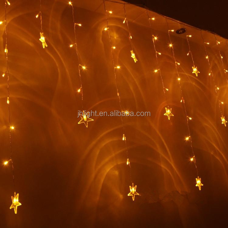 Led Shooting Star Light String/snow Falling Led Dripping Icicle ...
