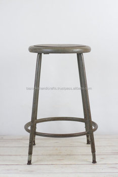 Excellent Tall Vintage Stool Metal Stool With Wooden Top Vintage Metal Bar Stool Buy Vintage Bar Stools Vintage Metal Bar Stool Bar Stool Product On Machost Co Dining Chair Design Ideas Machostcouk