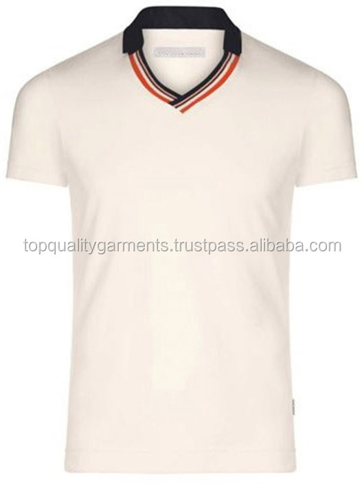 Super Cream Color Boys T-shirt 100% Cotton Polo Tee T-shirt With ...