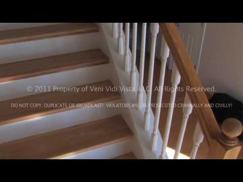 Get Quotations · How To Remodel Carpeted Stairs Into Oak Wood Stairs Using  Stair Treads