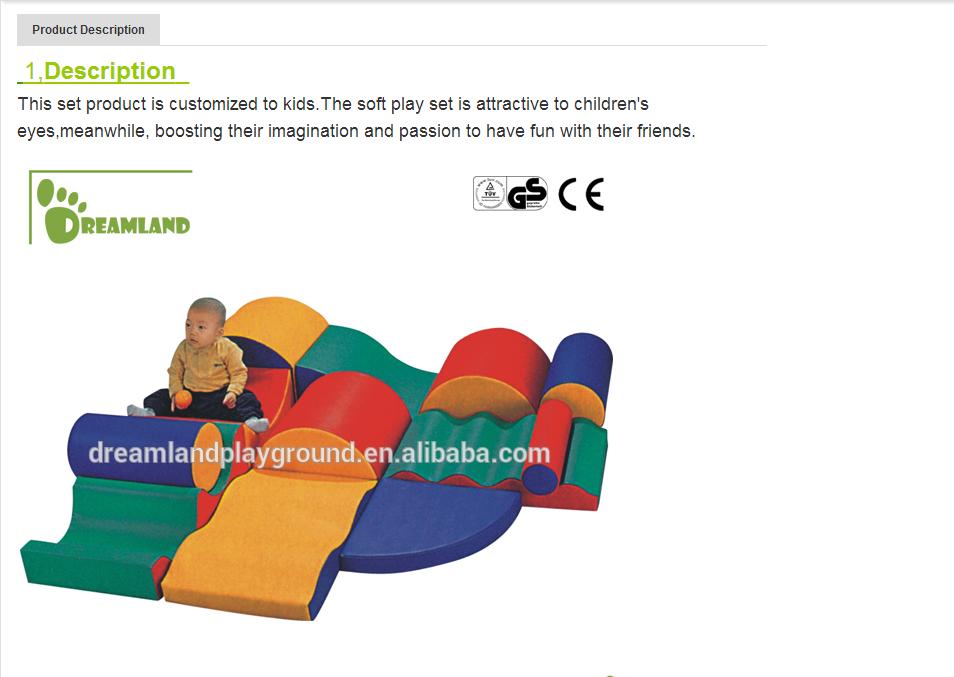 Ihram Kids For Sale Dubai: Children Play Center Indoor Playground Equipment Type Soft