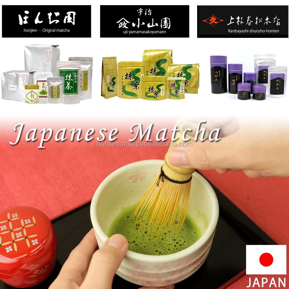 High-quality healthy matcha for ice tea available in various grades
