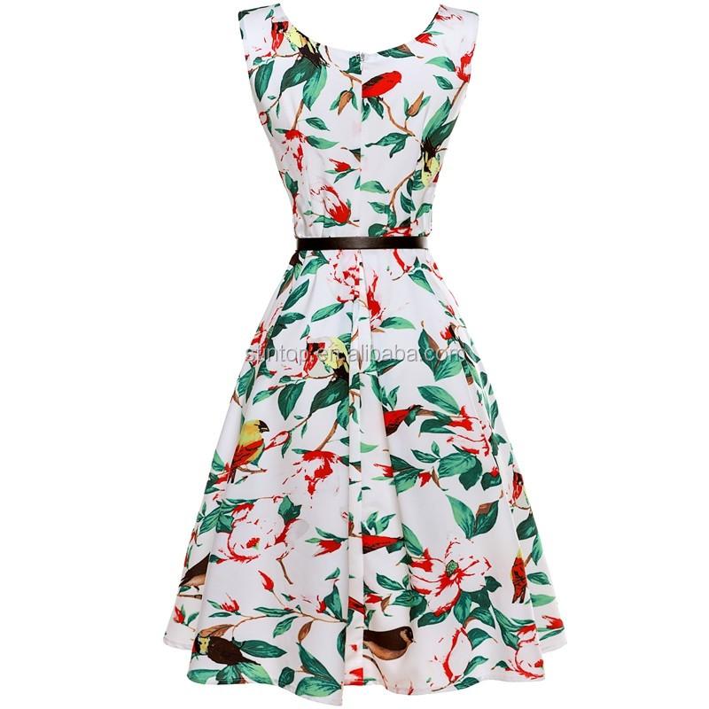 Mujeres delgadas con vestidos