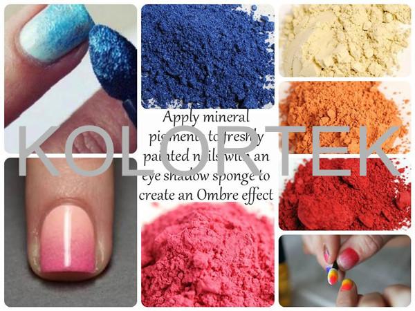 Gel Nails Colored Mica Powder Color Nail Pigment Art