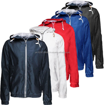 New Men Summer Rain Jacket / Windbreakers & Water Proof Jacket ...