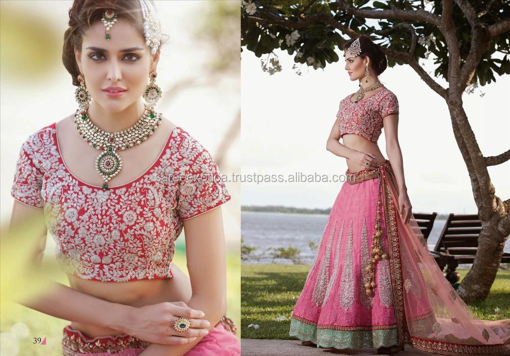 Bulk Suppliers Of Indian Wedding Designer Sarees Fancy Bridal Saris Net Georgette