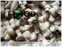 canned peeled straw mushroom in brine 425g/850g/2840g