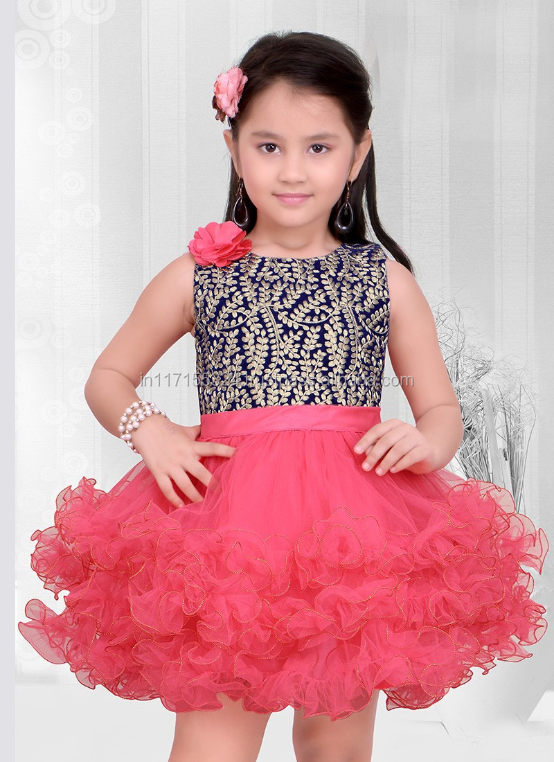 2016 Latest Style Fashionable Girl Wholesale Dress Child Wear In ...