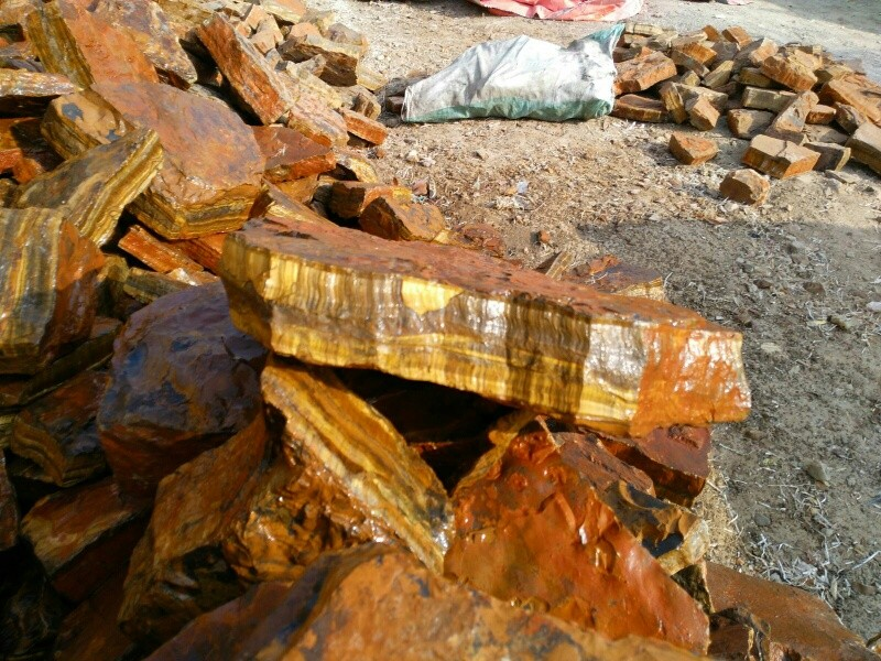 Wholesale Tiger Eye Lapidary Rough Stone Huge Pieces