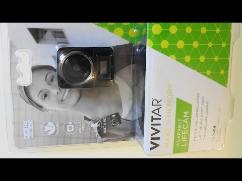 "Vivitar Lifecam DVR906 Body Cam - ""Proper"" Unboxing and Review"