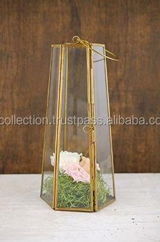Brass Lantern Brass Antique Finish Lantern Glass And Metal Lantern New Design Candle Holder