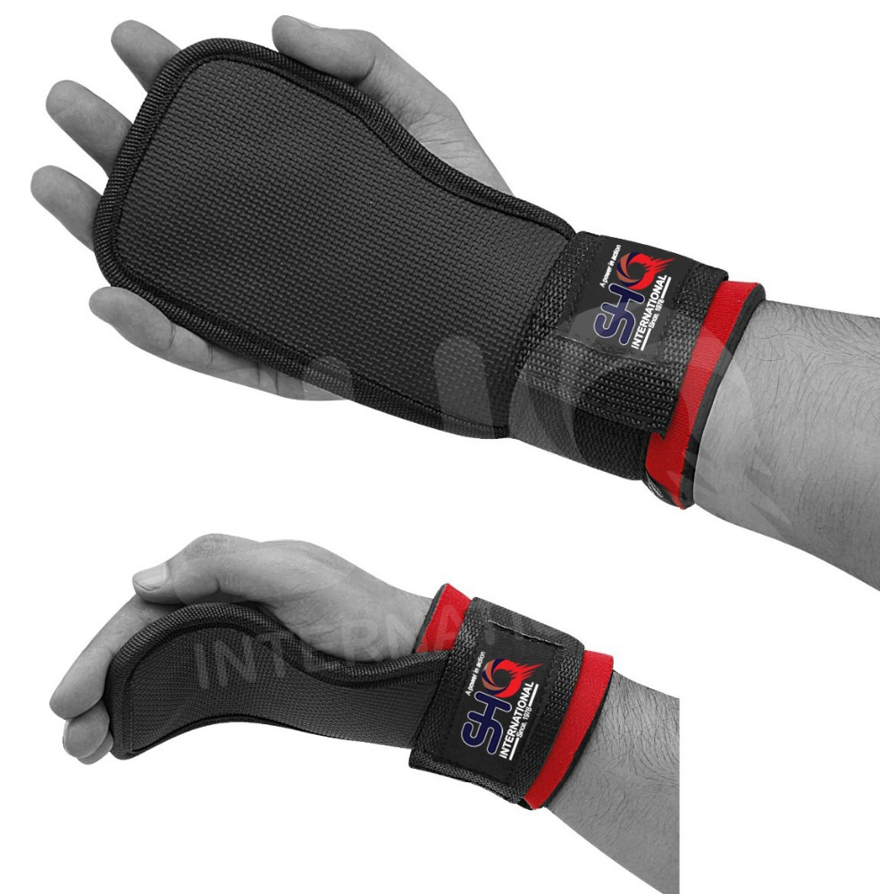 Weight lifting Gel Gym Hand Grips Palm Pads Support Training Gloves