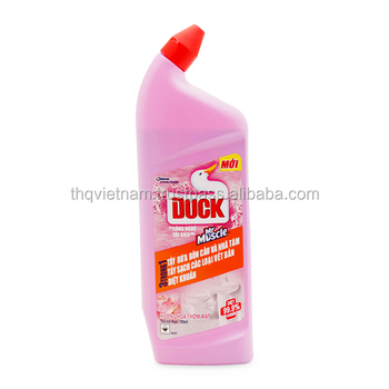 thq vietnam toilet duck thick liquid toilet bowl cleaner 900ml