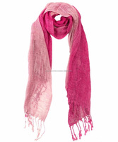 Viscose ombre scarf manufacturer from india