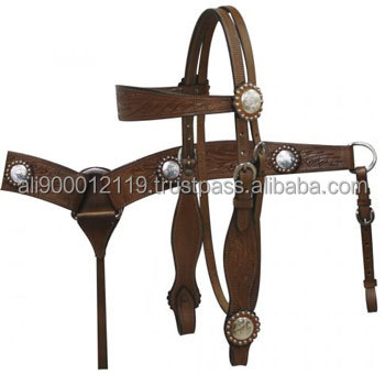 Western saddle set horse riding equipment
