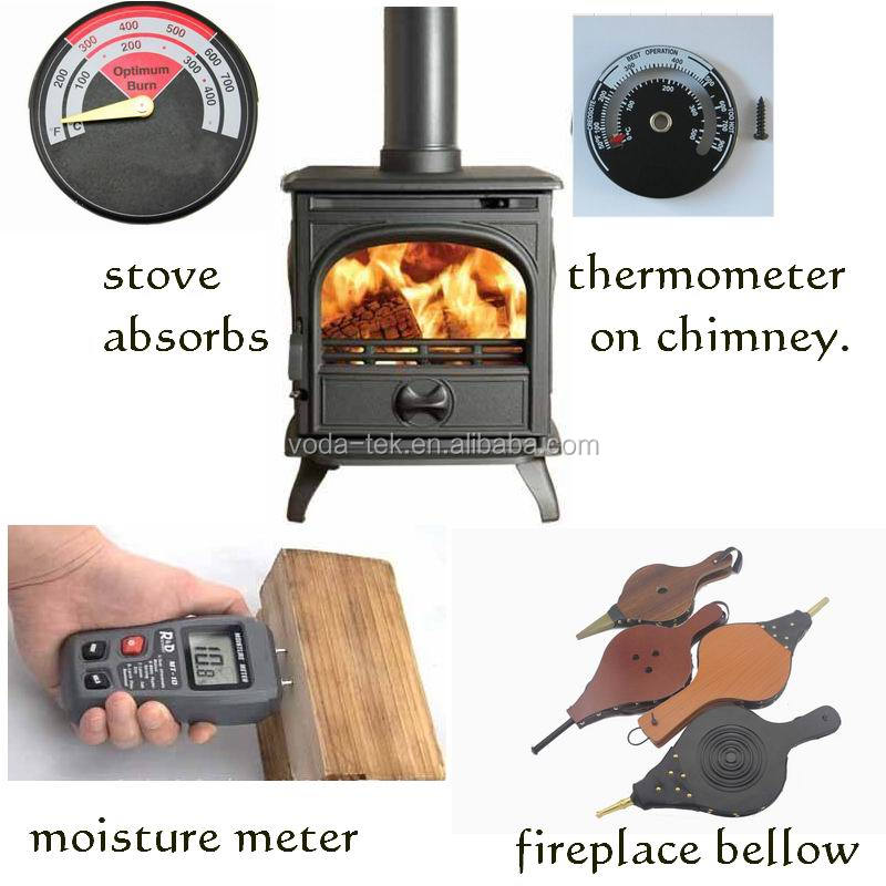 2019 VODA New design 3 black blade wood stove eco fan ecofan