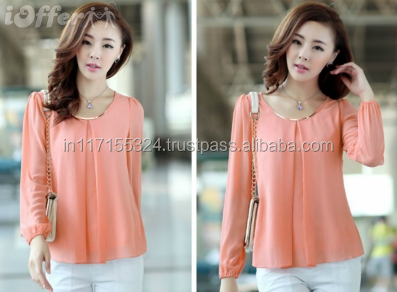 Las Fashion Office Wear Top Shirt Tops Images Latest Designs S