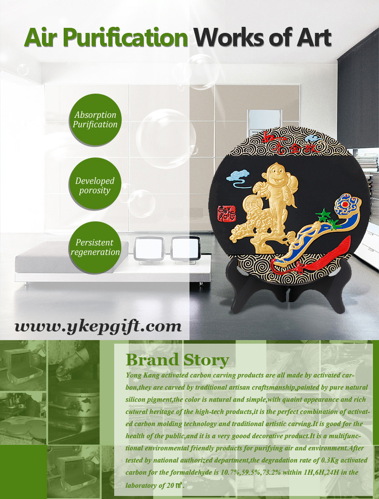 Novelty Creative Business Gift Golden Monkey China Craft Supplies ...