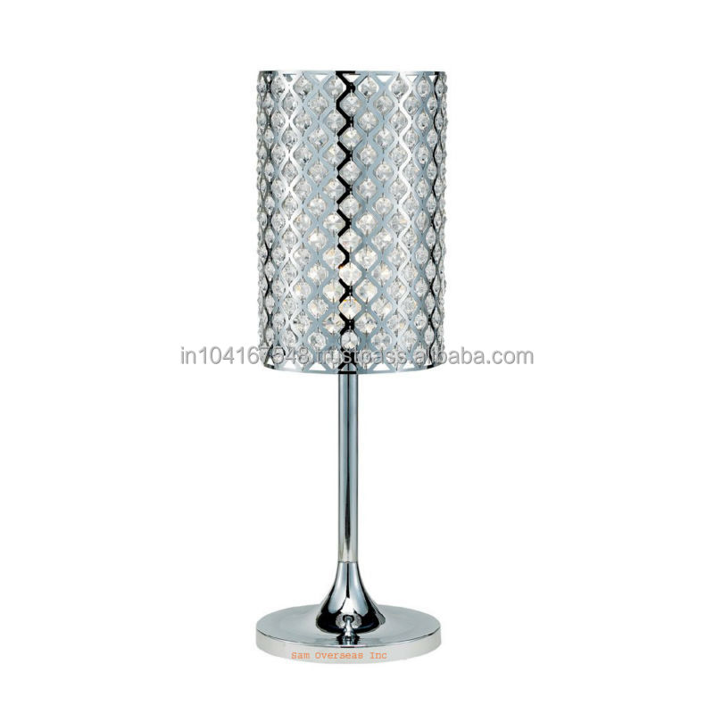 Soi Hot Selling Table Lamps With Metal Lamp Shade Color Silver ...