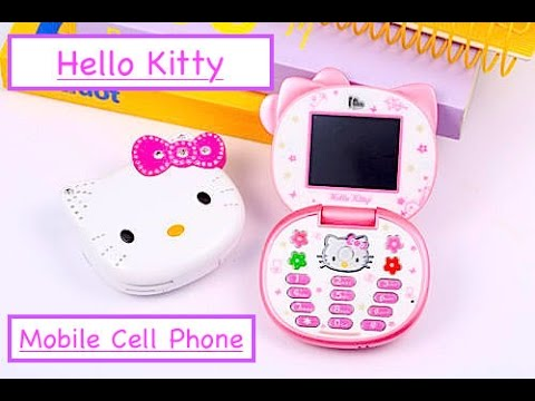 Hello Kitty Mobile Kawaii Anime Cell Phone Unboxing & Showcase
