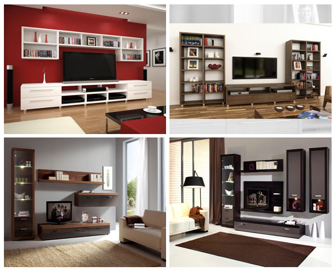 modern design living room tv set furniture  tv wall units wooden tv cabinet. Modern Design Living Room Tv Set Furniture Tv Wall Units Wooden Tv