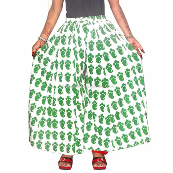 Indian cambric cotton women 39 s divider skirt buy indian for Divider skirt images