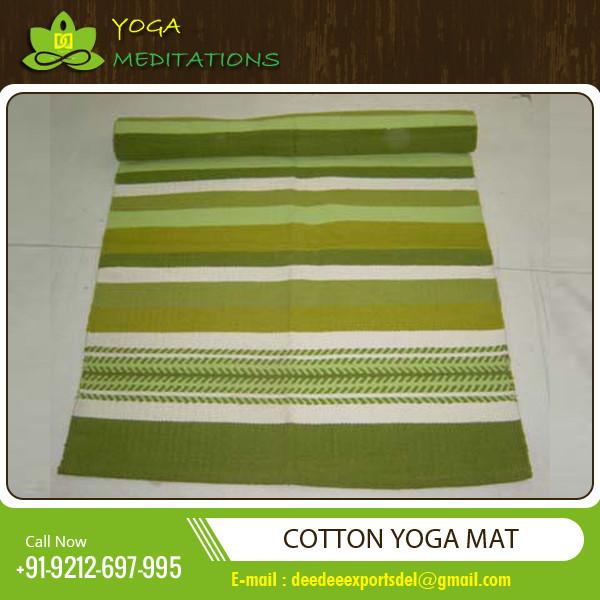 Cotton Yoga MatDesigner Meditation RugsYoga Rugs With Best Price