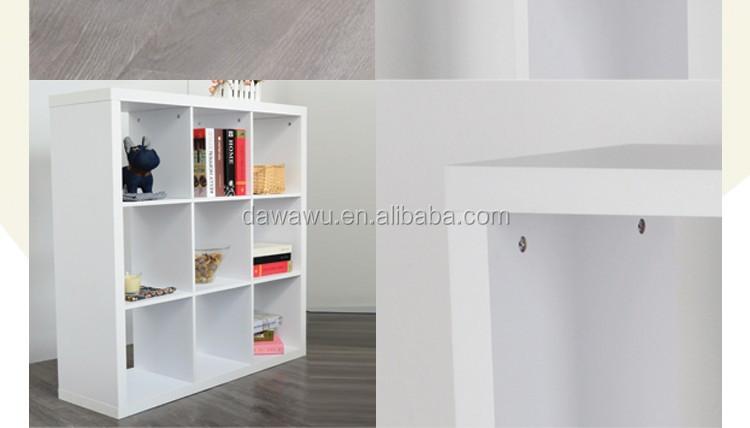 Mdf Boekenkast Vitrinekast 3* 3 - Buy Product on Alibaba.com