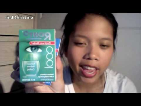 Review: Rohto redness reflief eye drops