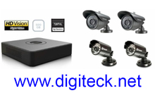 Swann Security Kit DVR4-1500 4 Channel CCTV & 2 x PRO-735 & 2 x Samsung SCO-2040R Cameras