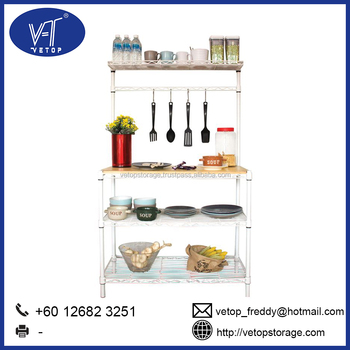 Awe Inspiring Vetop High Quality White Kitchen Bench Buy Storage Rack Kitchen Bench Kitchen Rack Product On Alibaba Com Pdpeps Interior Chair Design Pdpepsorg