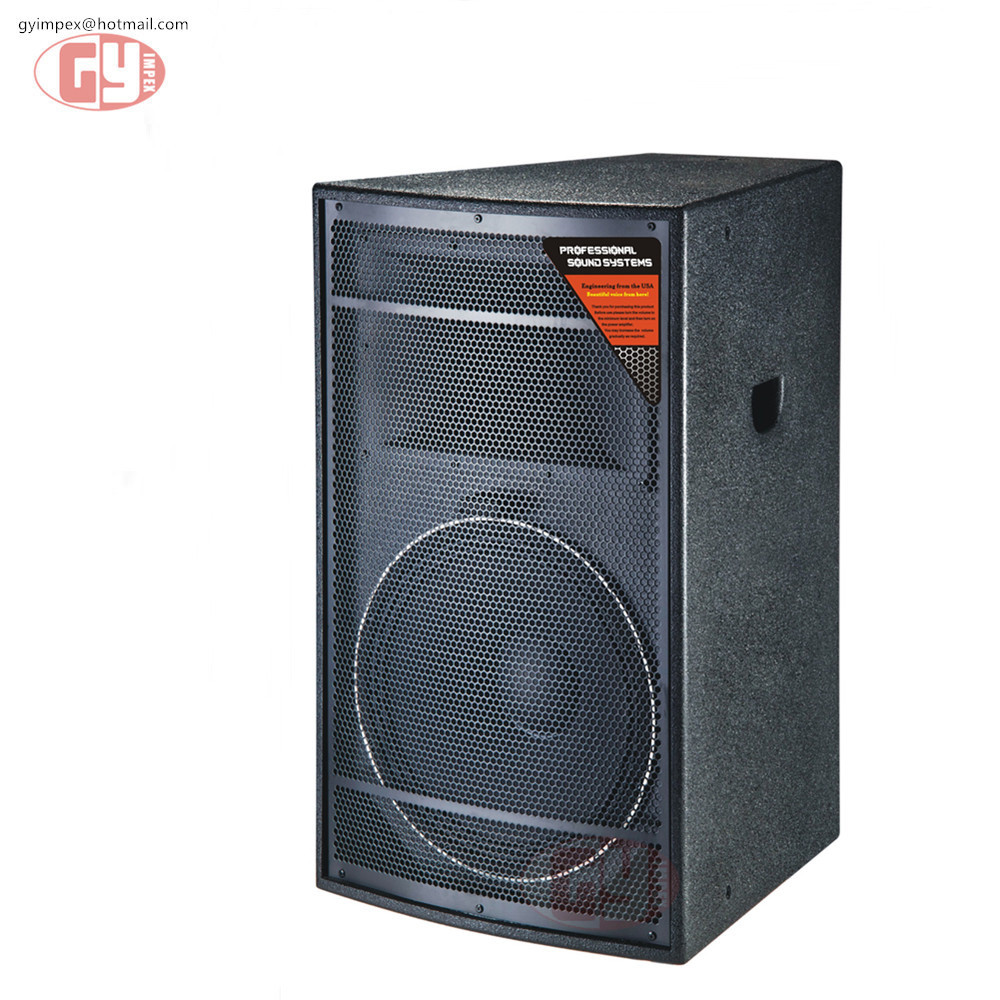 12 inch 2 way full range stage power system professional audio speaker