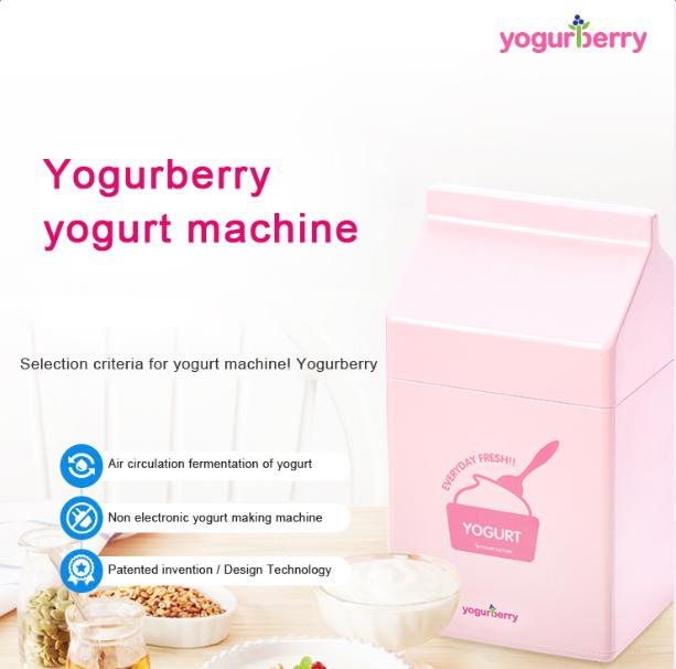 Korea Yogurberry Non electricity Natural Fementation Yogurt Maker
