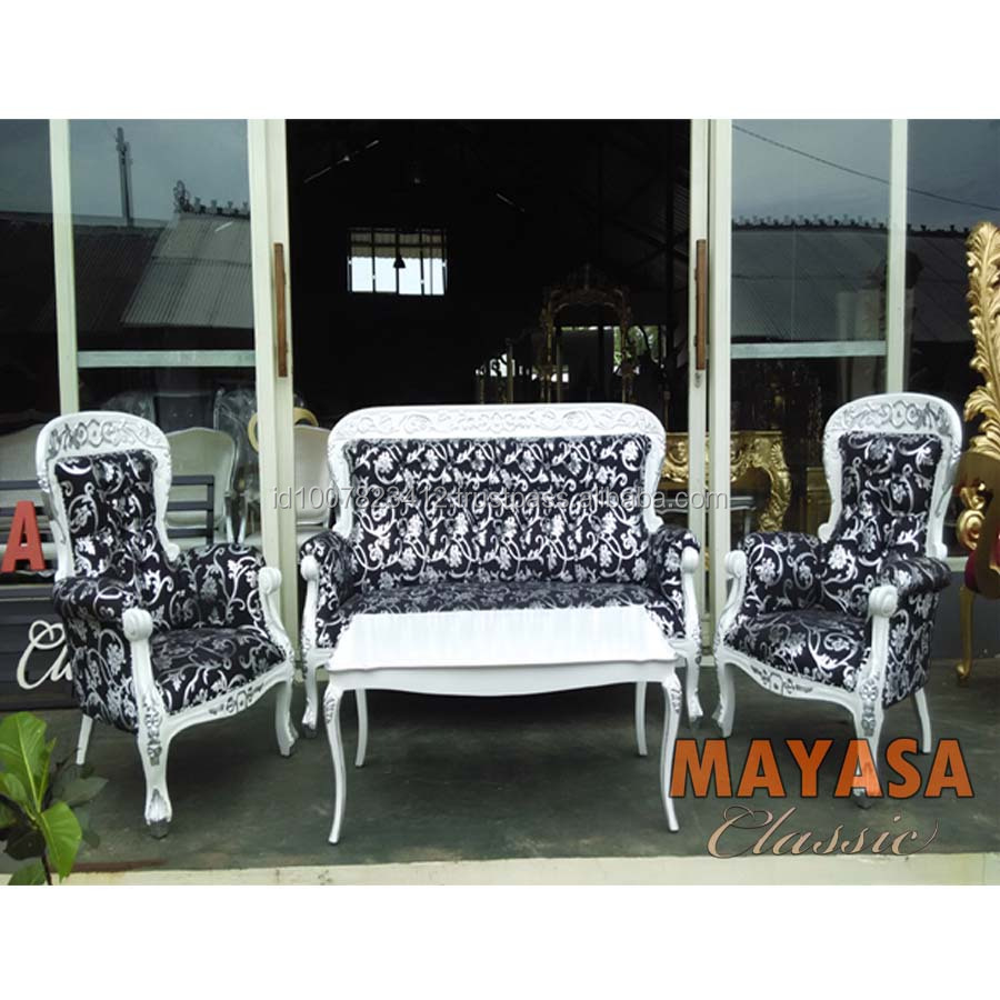 Classic Motif Sofa Set Empire Furniture