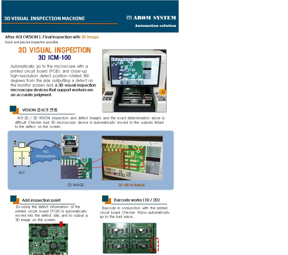 Icm3d Visual Inspection Machine Buy 3d Circuit Board Machine3d Aoiicm Product On