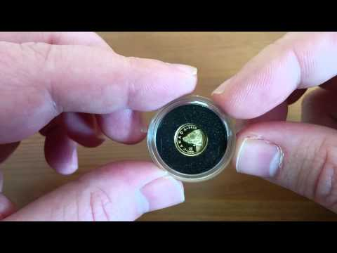 2015 Grizzly Bear 1/2 gram gold coin