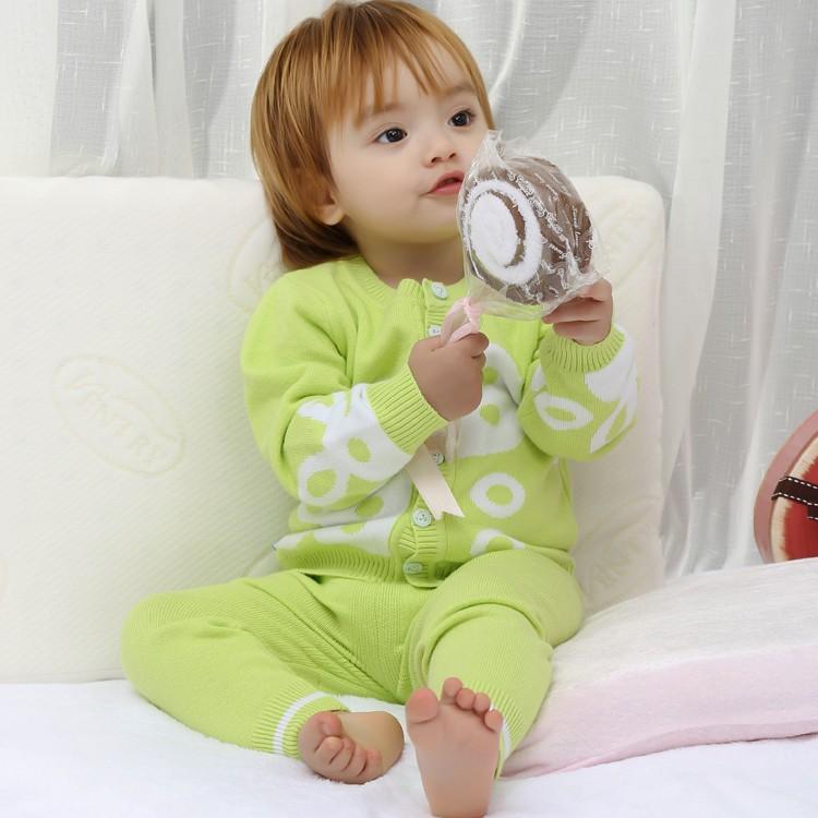 Equipo De Tejer Patrones Diseños Suéter De Lana Para Bebés - Buy ...