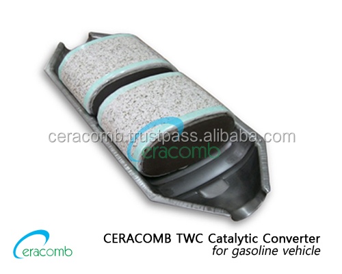 Twc Catalytic Converter For Gasoline Vehicle