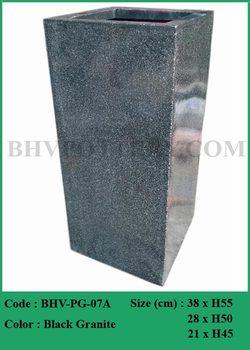 Granite Look Alike Fibergl Planters