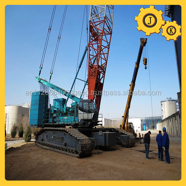 Kobelco crawler crane 400t original engine and spare parts Japan Kobelco crawler crane