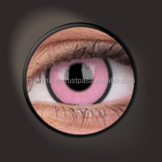 CONTACT LENS ColourVUE Crazy Lens Hot Pink