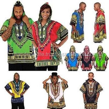 Dashiki Hoodie T-shirt African Traditional Hippie Poncho Caftan Mens Womens  Kaftan Boho African Top Mexican Shirt S M L Xl Xxl - Buy New Caftan Look
