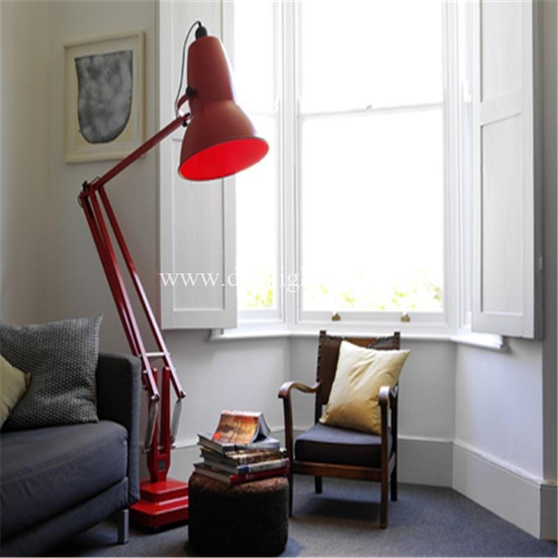 Modern Simple Big Living Room Decorative Floor Lamp Giant Standing ...