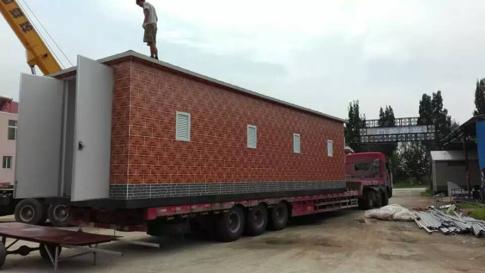 Professional steel prefab house